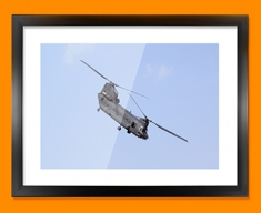 Chinook Boeing Plane Framed Print