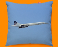 Concorde BAC Side Plane Sofa Cushion