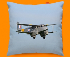 DH89 Dragon Rapide de Havilland Plane Sofa Cushion