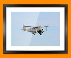 DH89 Dragon Rapide de Havilland Plane Framed Print