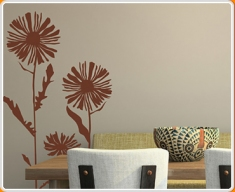 Daisies 03 Wall Sticker