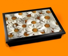 Daisies Cushion Lap Tray