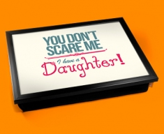 Daughter Typography Lap Tray