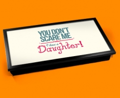 Daughter Typography Laptop Tray