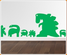 Dinosaurs Set Wall Sticker
