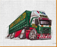 Eddie Stobart Canvas Art Print