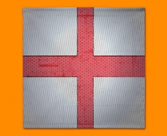 England Flag Napkins (Set of 4)