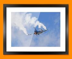 F 16 Fighting Falcon Lockheed Martin Plane Framed Print