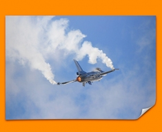 F 16 Fighting Falcon Lockheed Martin Plane Poster