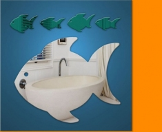 Fish Family Bundle Mirror