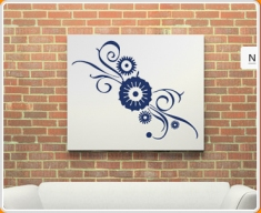 Floral 01 Wall Sticker (1m)