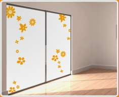 Flowers Assorted Set Wall Sticker