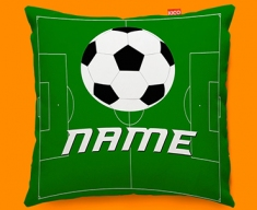 Football Personalised Childrens Name Sofa Cushion