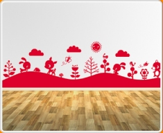 Forest Mural 1 Wall Sticker