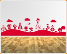 Forest Mural 2 Wall Sticker