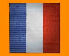 France Flag Napkins (Set of 4)