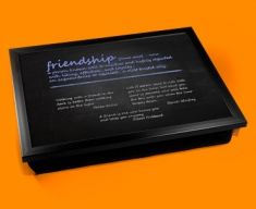 Friendship Definition Lap Tray