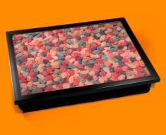 Fruit Pastilles Cushion Lap Tray