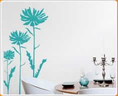 Gerberas Wall Sticker