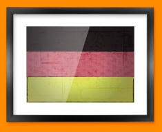 Germany Flag Framed Print