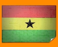 Ghana Flag Poster