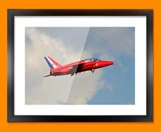 Gnat Folland Plane Framed Print