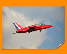 Gnat Folland Plane Poster