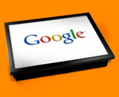 Google Logo Cushion Lap Tray