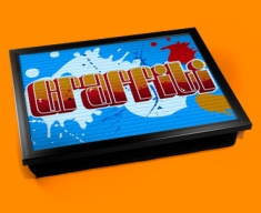 Graffiti Cushion Lap Tray