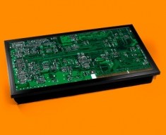 Green Circuitboard Laptop Lap Tray
