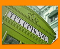 Green Phone Box Poster
