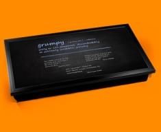 Grumpy Definition Laptop Tray