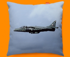 Harrier BAE Plane Sofa Cushion