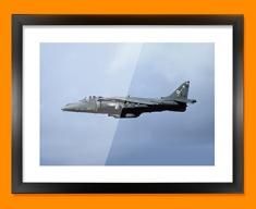 Harrier BAE Plane Framed Print