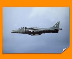 Harrier BAE Plane Poster