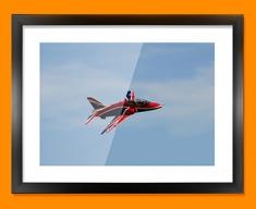 Hawk BAE Plane Framed Print