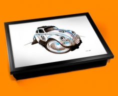 Herbie The Beetle Cushion Lap Tray