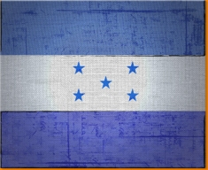 Honduras Canvas Art Print