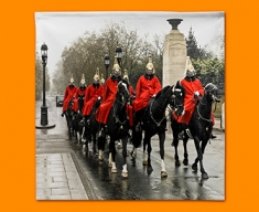 Horse Guards Napkins (Set of 4)