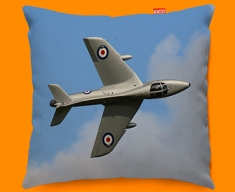 Hunter Hawker Plane Sofa Cushion