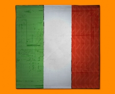 Italy Flag Napkins (Set of 4)