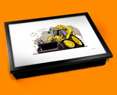 JCB Digger Cushion Lap Tray