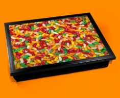 Jelly Beans Cushion Lap Tray