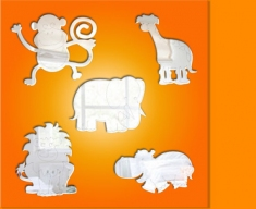 Jungle Animals Bundle Mirror