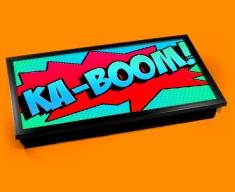 Ka-Boom Comic Laptop Lap Tray