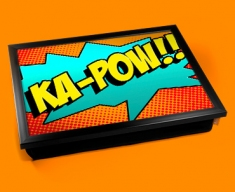 Ka-Pow Comic Cushion Lap Tray