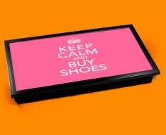 Buy Shoes Keep Calm Laptop Lap Tray