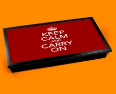 Keep Calm Carry On Laptop Lap Tray
