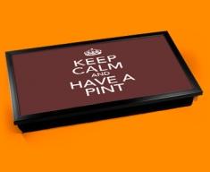 Have a Pint Keep Calm Laptop Lap Tray
