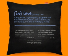 Love Definition Funky Sofa Cushion